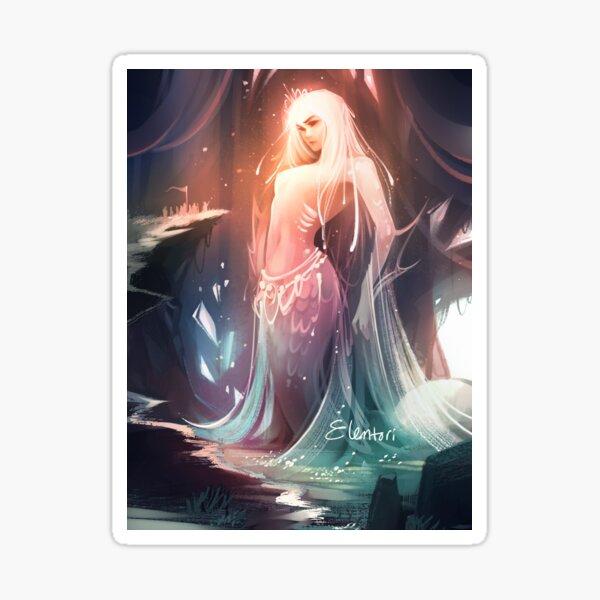 Goddess of the Rising Tide Sticker