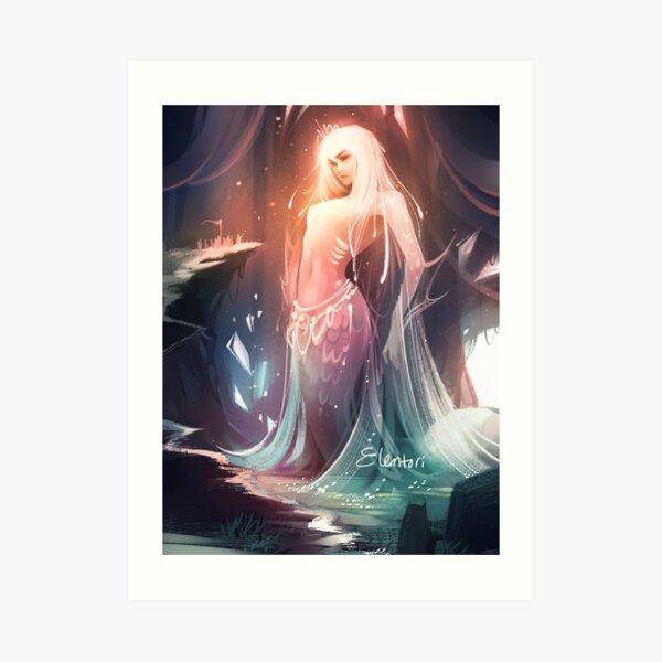 Goddess of the Rising Tide Art Print