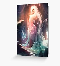 Goddess of the Rising Tide Greeting Card