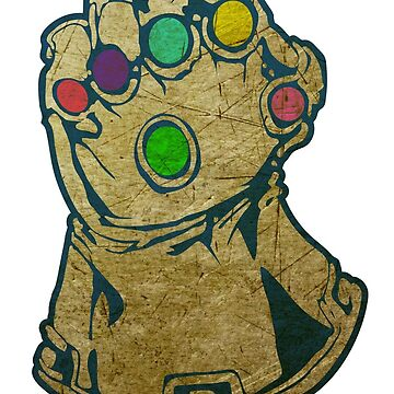 Infinity Gauntlet Grunge by megaman1980