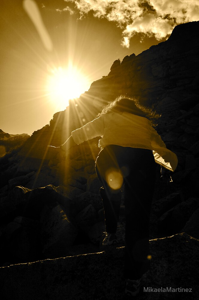 The Climb by MikaelaMartinez