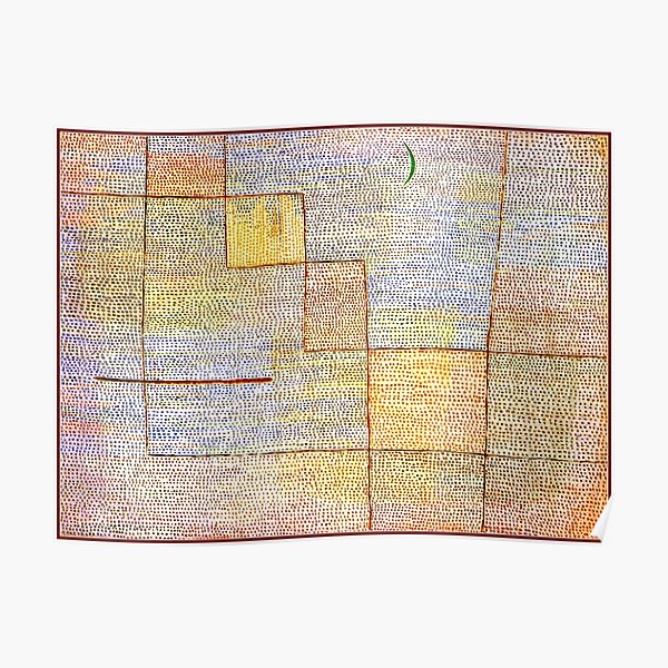 Klee - Clarification, art abstrait populaire Poster