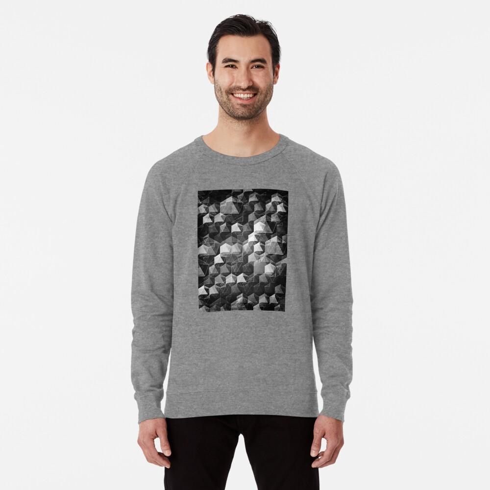 AS THE CURTAIN FALLS (MONOCHROME) Lightweight Sweatshirt