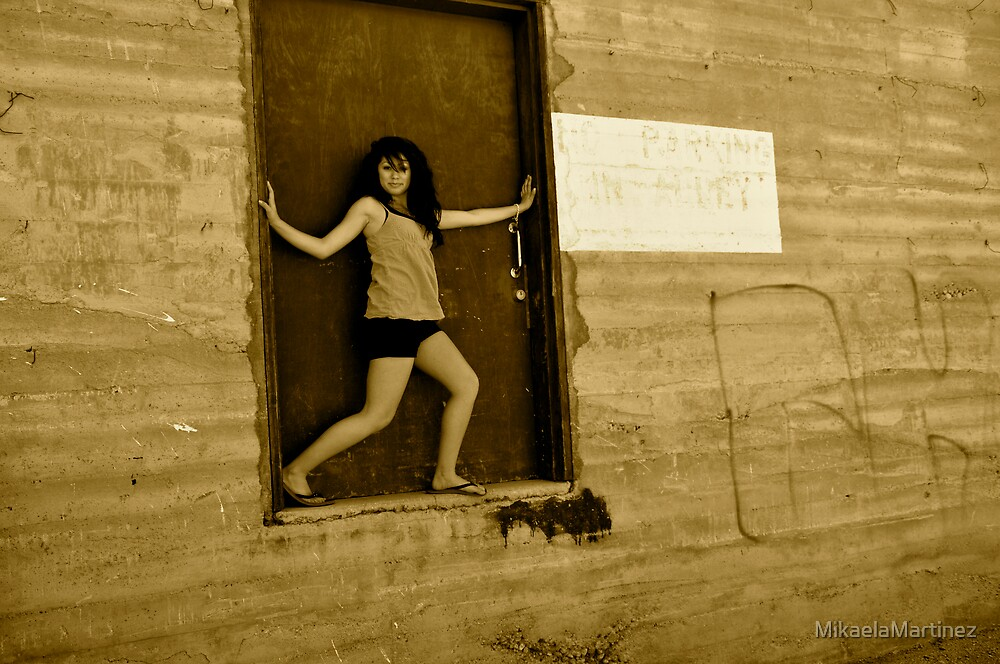 Standing in the Doorway by MikaelaMartinez