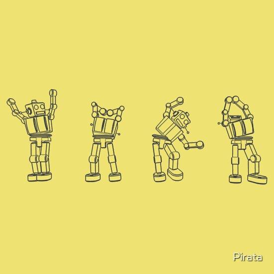 TShirtGifter presents: Robot YMCA