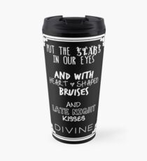 Put The Stars In Our Eyes White Travel Mug