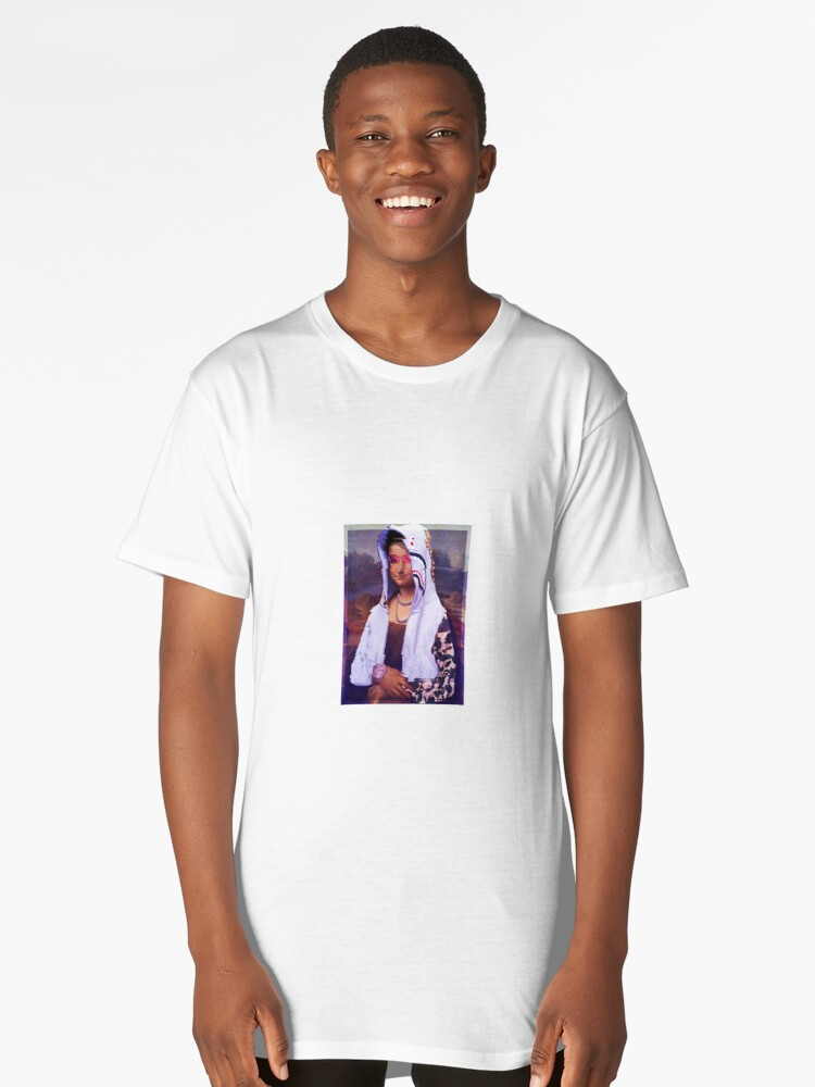 Mona Lisa Hypebeast Long T-Shirt Front