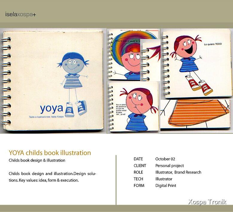 childrens book Illustration by Xospa Tronik