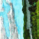Henderson Harbor, New York, watercolor by Dan Vera by danvera