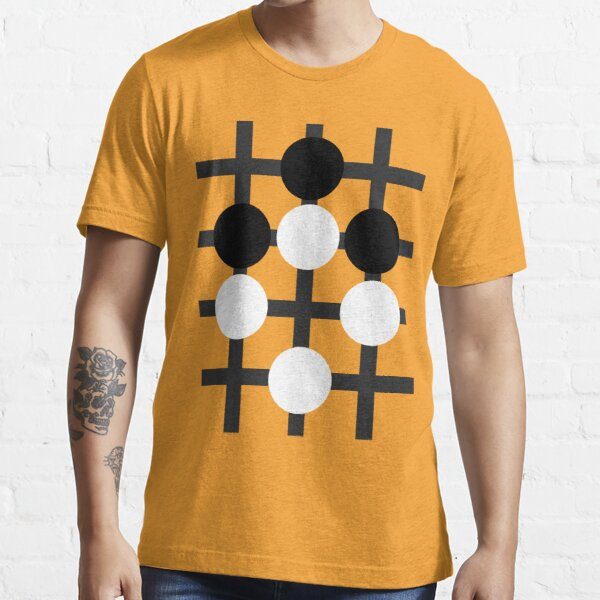 Baduk (Go, Weiqi) Ko example with no background Essential T-Shirt