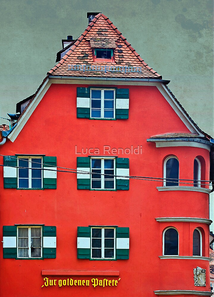 Red Building by Luca Renoldi