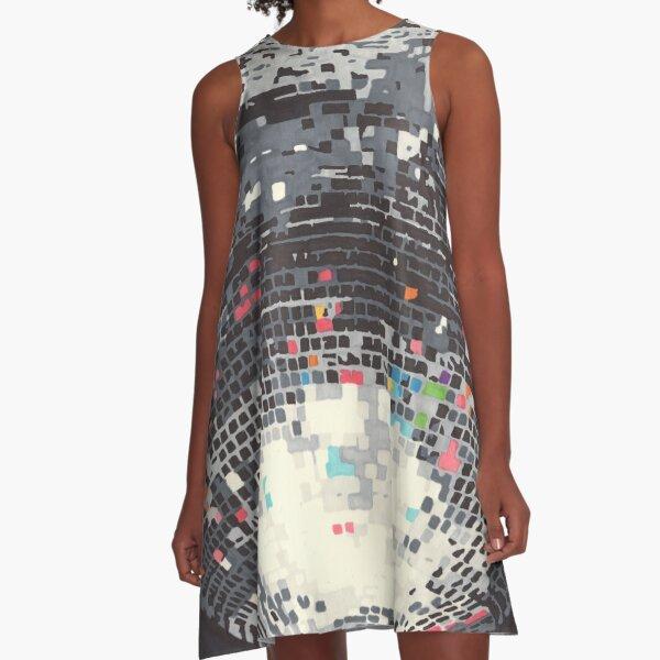 Disco A-Line Dress
