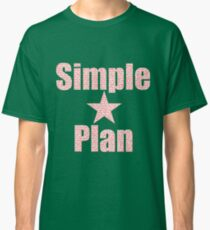 SIMPLE PLAN RED Classic T-Shirt