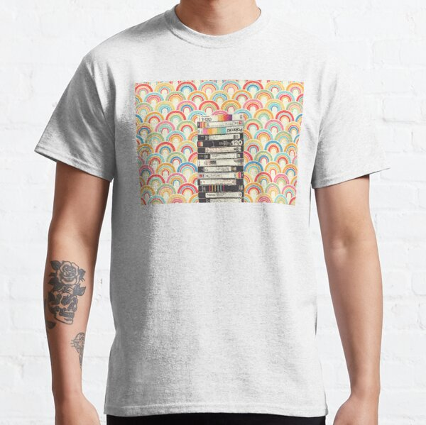 VHS & Rainbows Classic T-Shirt