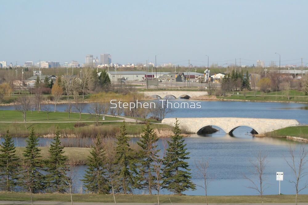 Winnipeg from Kilcona Park by Stephen Thomas