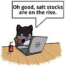 Salt Stocks in Brown by Overinkt