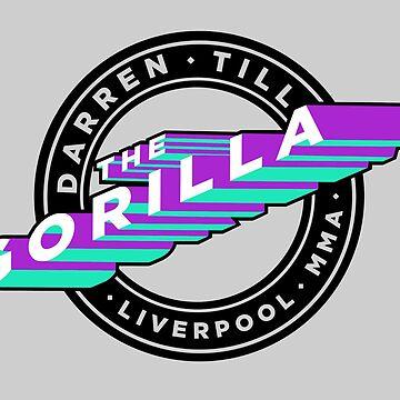 "Darren Till ""The Gorilla"" Liverpool MMA - Purple/Mint by Undeniable"