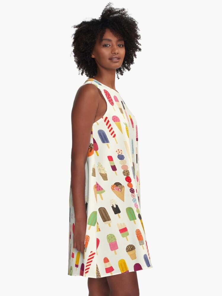 Alternate view of Pop Pop Popsicles! A-Line Dress