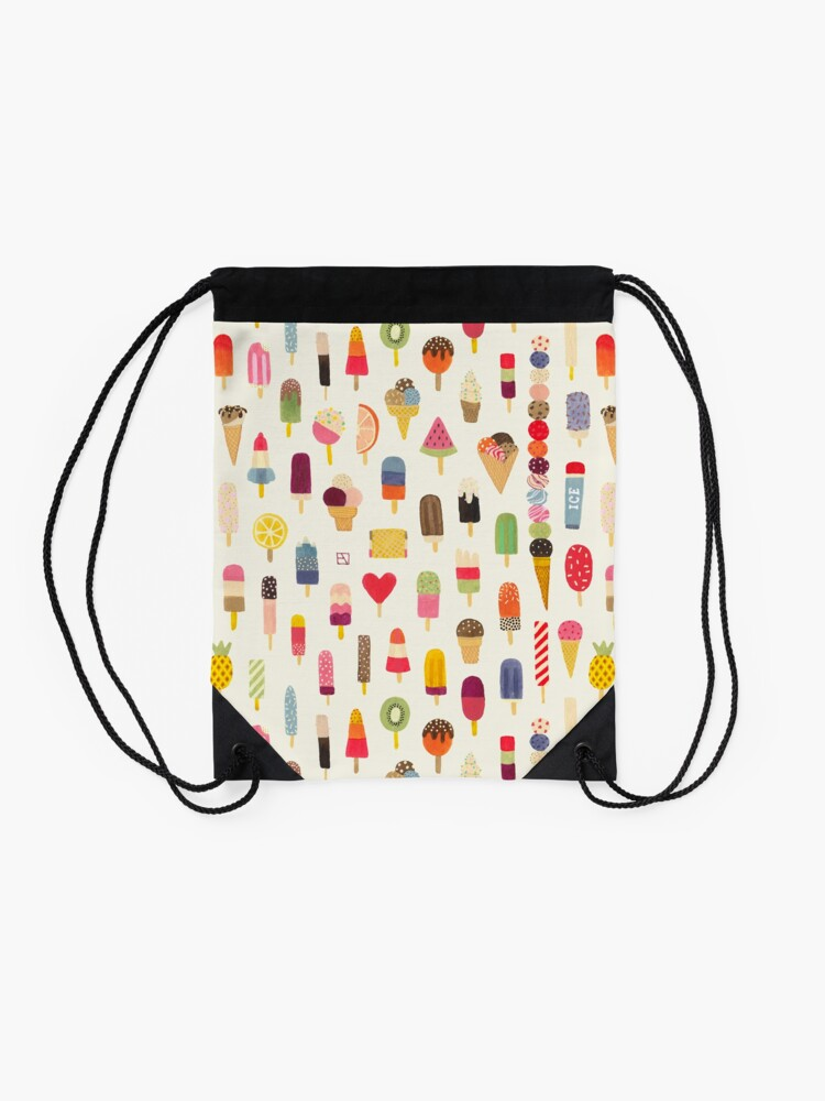 Alternate view of Pop Pop Popsicles! Drawstring Bag