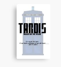 The Tardis Bigger on the Inside Canvas Print
