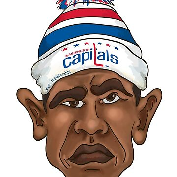 Obama is a Caps Fan by bfrench87