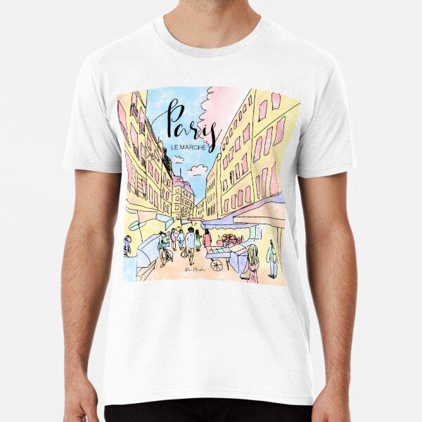 Paris I left by Alice Monber Premium T-Shirt