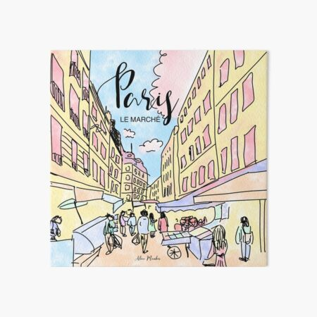 Paris I left by Alice Monber Art Board Print