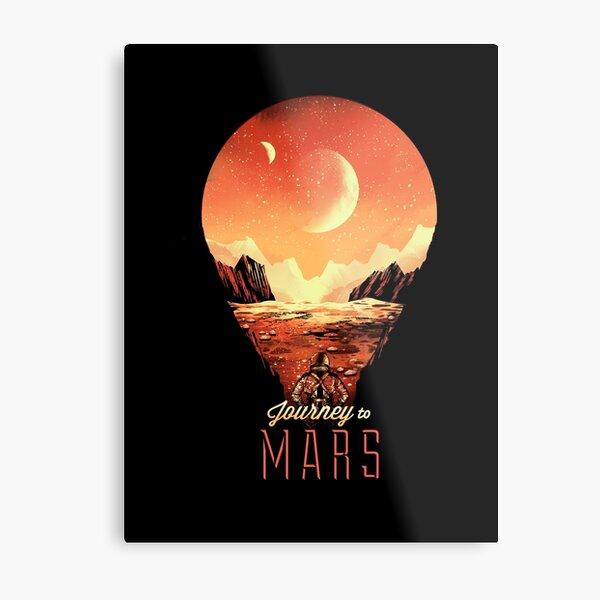 Journey to Mars Metal Print