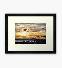 'Pacific Dawn' P&O Cruises Australia Framed Print