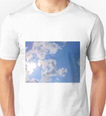 Sky clouds summer Unisex T-Shirt