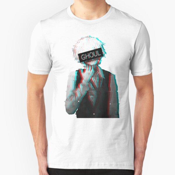 Tokyo Ghoul - Ken Kaneki Slim Fit T-Shirt