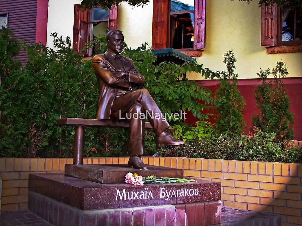 Mikhail Bulgakov by LudaNayvelt