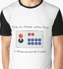 Gamer - Thousand Lives - Version 1 Graphic T-Shirt