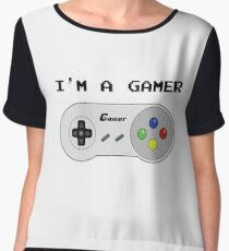 I'm a Gamer Chiffon Top