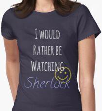 I Would Rather Be Watching Sherlock T-Shirt