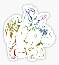Dutch Angel Dragon Drawing Stickers Redbubble