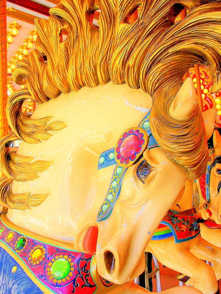 Prancing Glory Carousel Horse by rtographsbyrolf