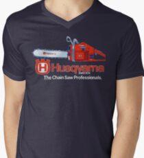 Camiseta de cuello en V Husqvarna Motosierras