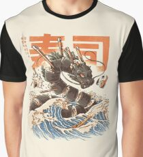 Great Sushi Dragon  Graphic T-Shirt