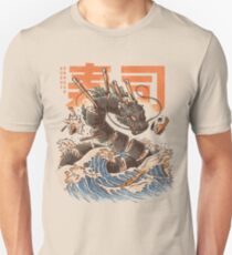 Great Sushi Dragon  Unisex T-Shirt
