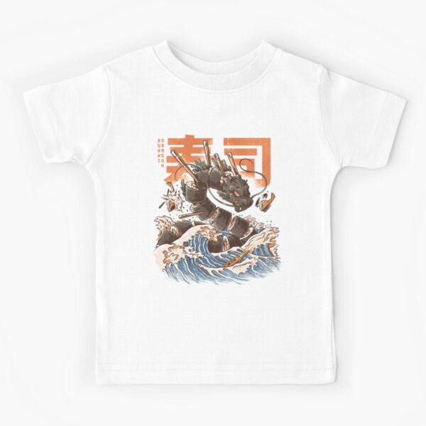 Great Sushi Dragon  Kids T-Shirt
