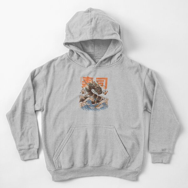 Great Sushi Dragon  Kids Pullover Hoodie
