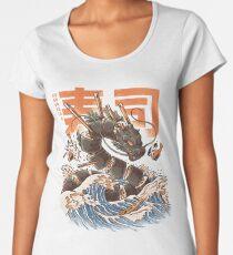 Great Sushi Dragon  Premium Scoop T-Shirt