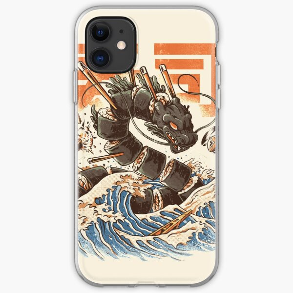 Great Sushi Dragon  iPhone Soft Case