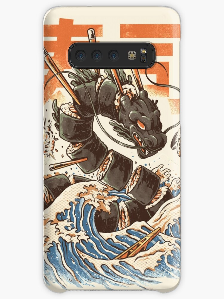 free shipping add83 e2526 'Great Sushi Dragon ' Case/Skin for Samsung Galaxy by Ilustrata Design