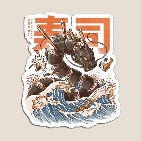 Great Sushi Dragon  Magnet