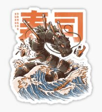 Great Sushi Dragon  Sticker