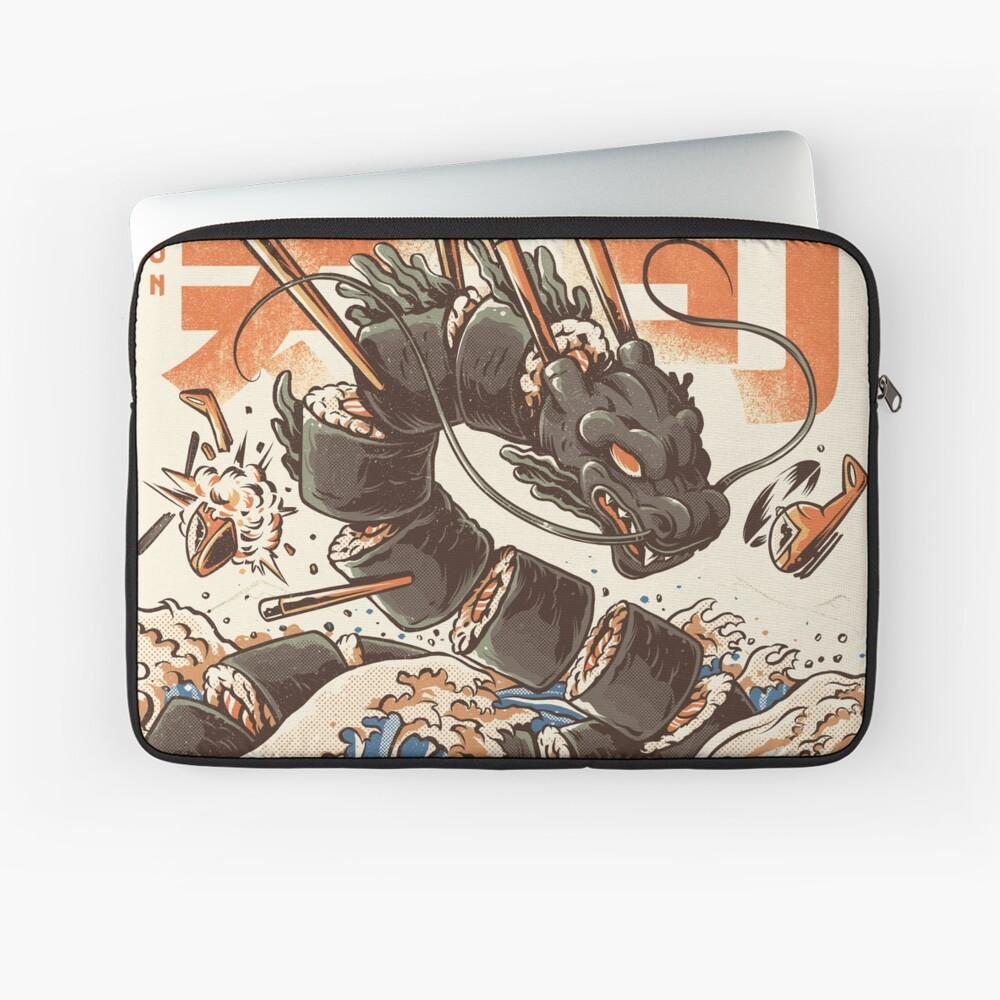 Great Sushi Dragon  Laptop Sleeve