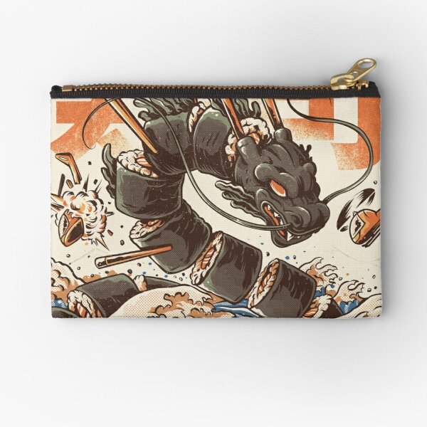 Great Sushi Dragon  Zipper Pouch