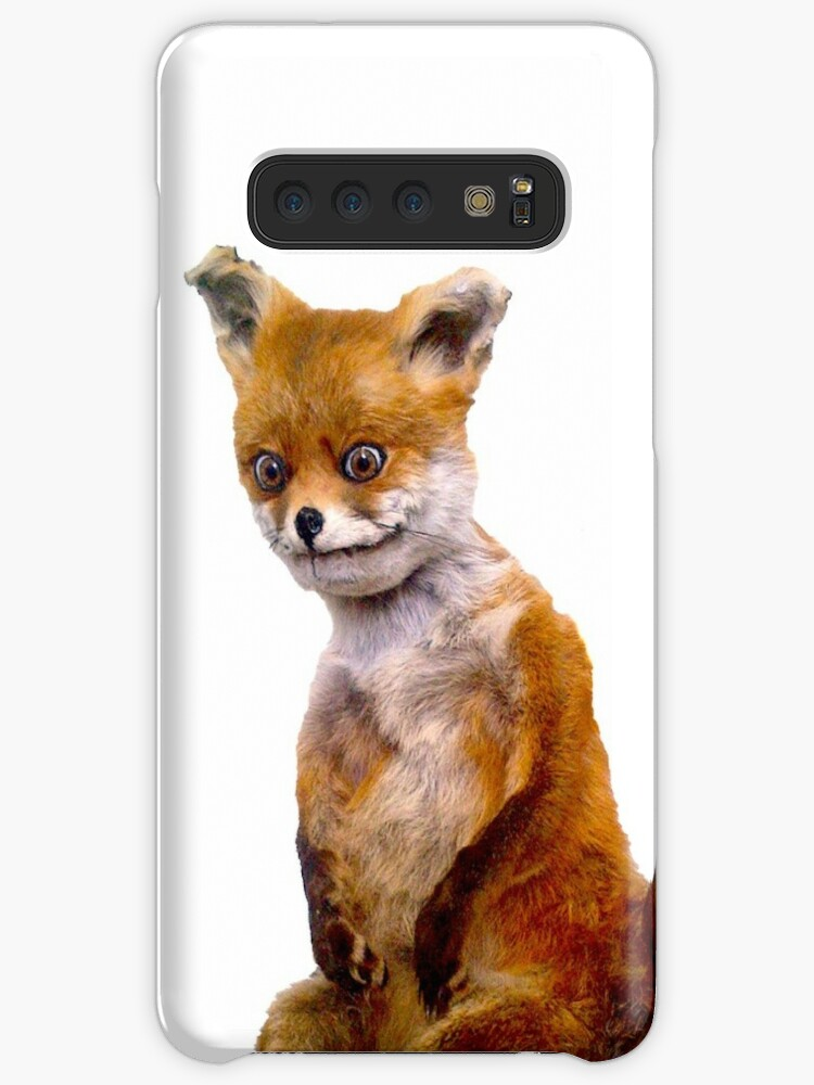Stoned Fox The Taxidermy Fox Meme Cases Skins For Samsung Galaxy